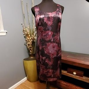 Ann Taylor Sleeveless Floral dress size 12P NWT